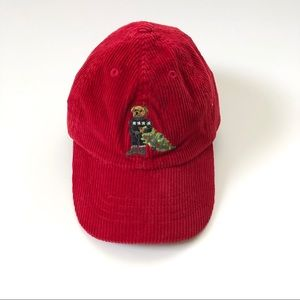 Ralph Lauren Polo red hat toddler baby 2t-4t new